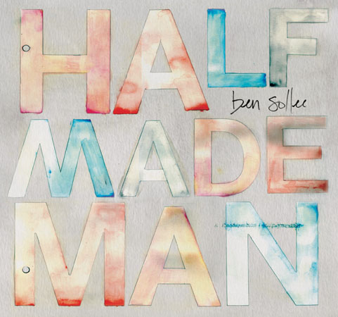 half made man album art